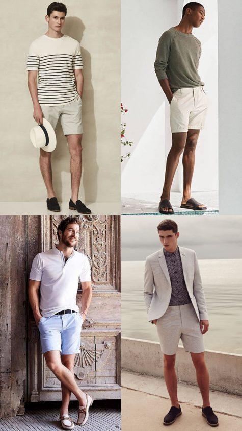 Tham khảo cách chọn giày đi cùng từng loại quần short nam - 1
