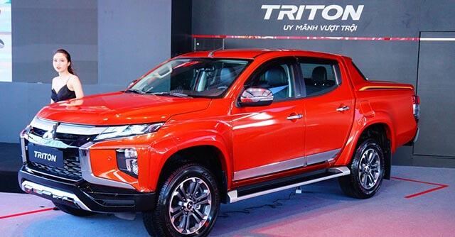 Mitsubishi triton - oto mitsubishi bán tải - 2