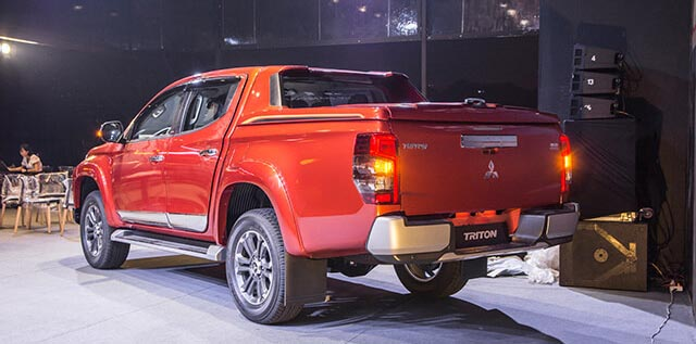 Mitsubishi triton - oto mitsubishi bán tải - 6