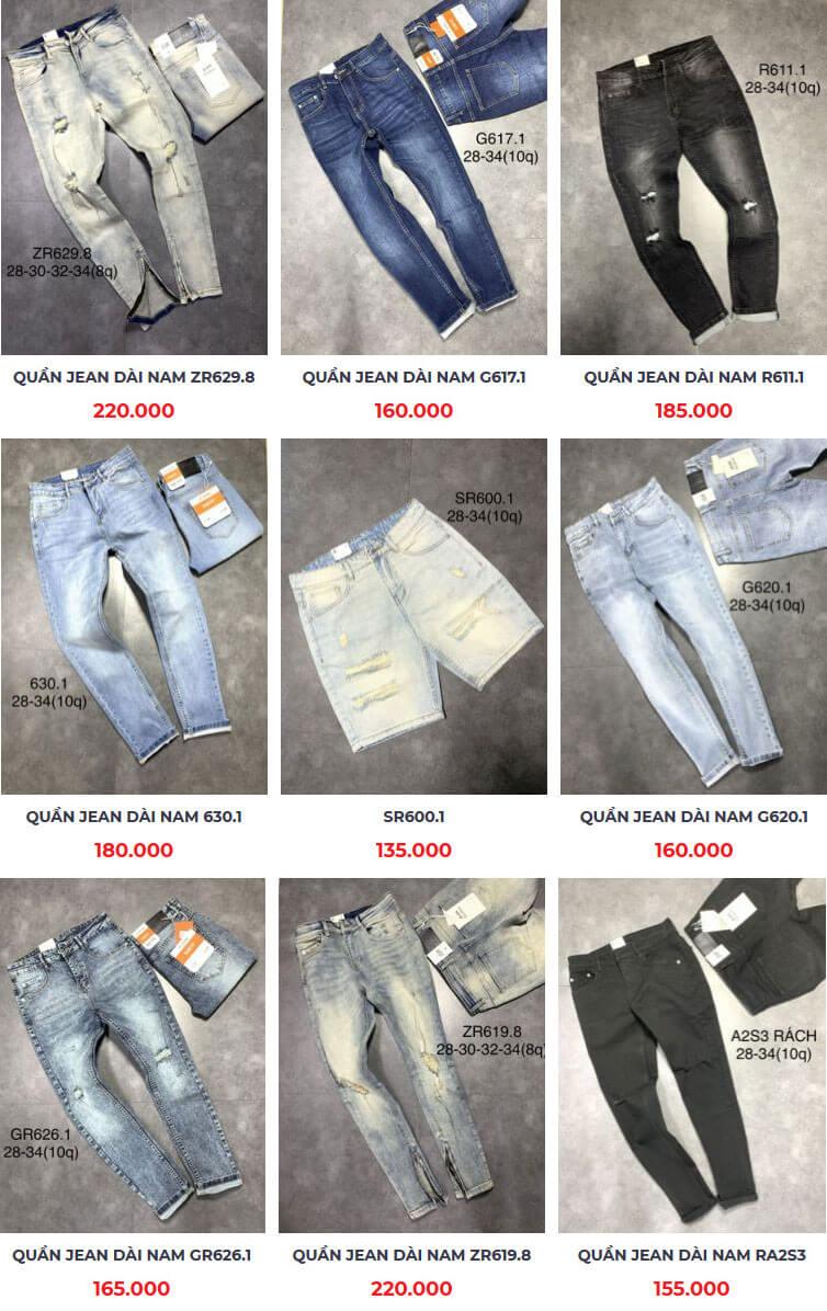 Những xưởng may quần jean giá rẻ uy tín tại tphcm - 1