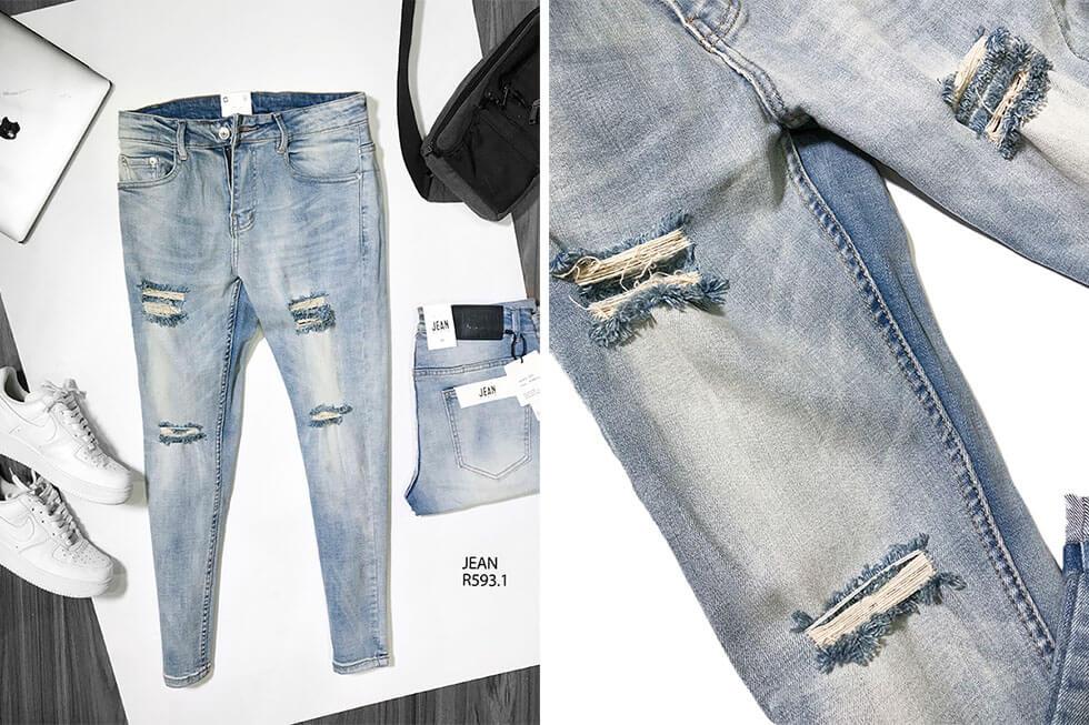 Bán sỉ quần jean nam cao cấp nguồn hàng quần jean giá sỉ - 2