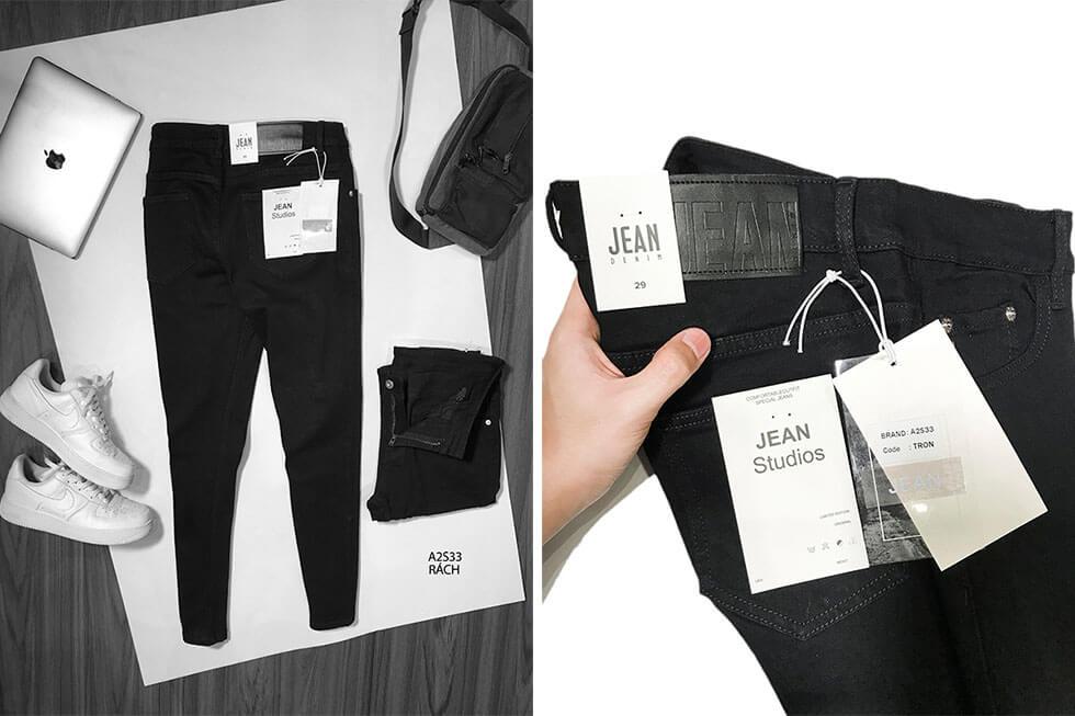 Bán sỉ quần jean nam cao cấp nguồn hàng quần jean giá sỉ - 3
