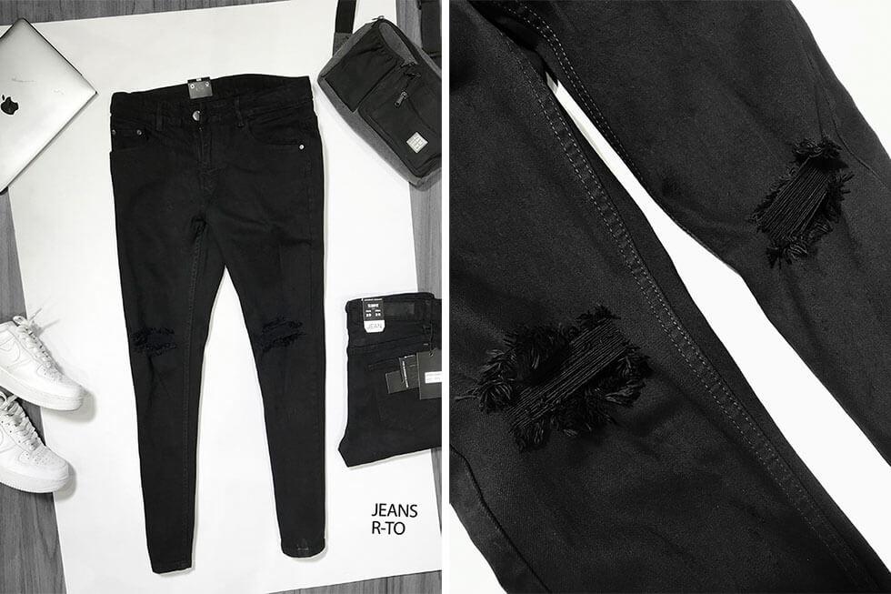 Bán sỉ quần jean nam cao cấp nguồn hàng quần jean giá sỉ - 1